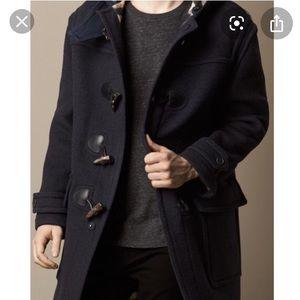 Men's Burberry wool coat